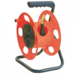 CRANK OPERATED REEL W/STAND 150' 16/3 CORD CAPACITY, 4 OUTLETS