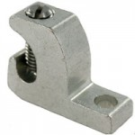 ALUMINUM LAY-IN LUG, TIN PLATED, 14-4, STAINLESS STEEL SCREW, SUITABLE FOR OUTDOOR USE