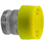 Booted Push Button Actuator Yellow RB2BP5