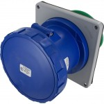 3125R6W Pin And Sleeve Receptacle 125 Amp 2 Pole 3 Wire IEC60309