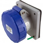 316R6W Pin And Sleeve Receptacle 16 Amp 2 Pole 3 Wire