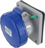 320R6W Pin And Sleeve Receptacle 20 Amp 2 Pole 3 Wire
