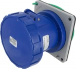 363R6W Pin And Sleeve Receptacle 63 Amp 2 Pole 3 Wire IEC 60309