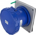 4100R9W Pin And Sleeve Receptacle 100 Amp 3 Pole 4 Wire