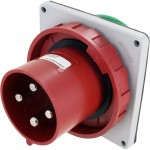 4125B6W Pin And Sleeve Inlet 125 Amp 3 Pole 4 Wire