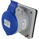420R9S Pin And Sleeve Receptacle 20 Amp 3 Pole 4 Wire
