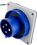 430B9W Pin And Sleeve Inlet 30 Amp 3 Pole 4 Wire