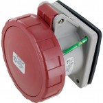 430R7W Pin And Sleeve Receptacle 30 Amp 3 Pole 4 Wire
