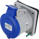 430R9S Pin And Sleeve Receptacle 30 Amp 3 Pole 4 Wire