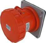 460R12W Pin And Sleeve Receptacle 60 Amp 3 Pole 4 Wire IEC 60309