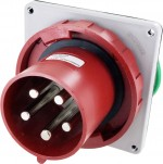 5125B6W Pin And Sleeve Inlet 125 Amp 4 Pole 5 Wire