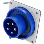 530B9W Pin And Sleeve Inlet 30 Amp 4 Pole 5 Wire