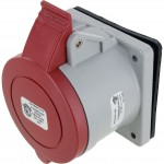 530R7S Pin And Sleeve Receptacle 30 Amp 4 Pole 5 Wire