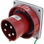 563B6W Pin And Sleeve Inlet 63 Amp 4 Pole 5 Wire