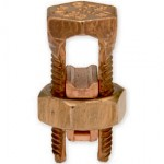 Copper Split Bolt 2 or 3 Conductors #6 - #2 AWG