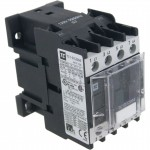 4 Pole Contactor 12 Amp 2 N/O - 2 N/C 120 Volt AC Coil Angle