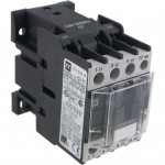 3 Pole Contactor 18 Amp 1 N/O 208 Vac Coil 60 Hz Angle