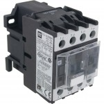 4 Pole Contactor 25 Amp 2 N/O - 2 N/C 220 Volt AC Coil Angle