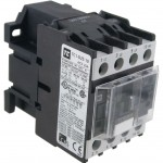 3 Pole Contactor 25 Amp 1 N/O 600 Volt AC Coil Angle