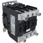 4 Pole Contactor 40 Amp 4 N/O 110 Volt AC Coil Angle