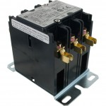 3 Pole Contactor 20 Amp 24VAC Coil