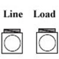 POWER DISTRIBUTION BLOCK , LINE 2-14AWG 1 OPENING, LOAD 2-14AWG 1 OPENING, 1 POLE (AS-I1-I1)