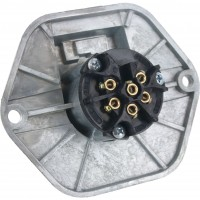 7-Pole Socket with 30 Amp Circuit Breaker 11-739