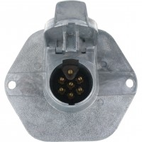 7-Pole Socket with 15 Amp Circuit Breaker 11-735