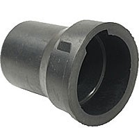 """RUBBER BOOT FOR 7-POLE SOCKET, 1.5"""" LONG, FOR .46-.72"""" DIAM. CABLE"""