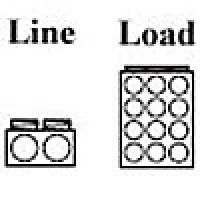 POWER DISTRIBUTION BLOCK , LINE 2/0-14AWG 2 OPENING, LOAD 4-14AWG 12 OPENING, 1POLE (AM-K2-H12)