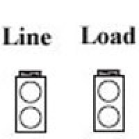 POWER DISTRIBUTION BLOCK, LINE 2/0-14AWG 2 OPENING,  LOAD 2/0-14AWG 2 OPENING, 1POLE (AS-K2-K2)