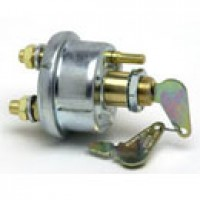 SINGLE POLE, OFF-ON, 6-36VDC, W/HENCOL LOCK, SILVER LAM. CONTACTS, WEATHER RESISTANT