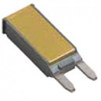 MINI BREAKER, PLUG-IN, 12V, 15A, TYPE I, PLASTIC HOUSING, GOLD COVER,