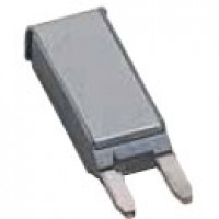 MINI BREAKER, PLUG-IN, 12V, 10A, TYPE II, PLASTIC HOUSING, SILVER COVER,