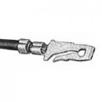QUICK-CONNECT TERMINALS, MALE FOR 14-16AWG WIRE