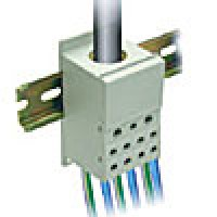 ONE PHASE POWER DISTRIBUTION BLOCK, 400A, INPUT 1x3/0AWG
