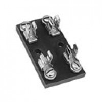 FOR GLASS FUSES & 30410 BREAKERS, INDIVIDUAL HOT FEED, STEEL, 4-GANG