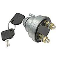 6-36VDC 180 AMPS CONTINUOUS CAPACITY, S.P.S.T, W/REMOVABLE KEY (FORMERLY POLLAK # 51-316)
