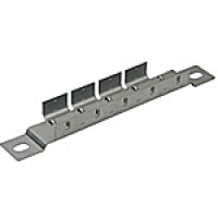 "MOUNTING BRACKET, 6 GANGS, 8.44"" LENGTH, 8.44"" MOUNTING HOLE CENTER, STEEL"