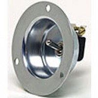 """SPST, OFF-ON SWITCH IN RECESSED PLATE (FOR 2"""" DIAM.)"""