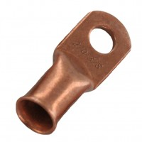 """Unplated Copper Lug 2/0 Awg 3/8"""" 20 Pack"""