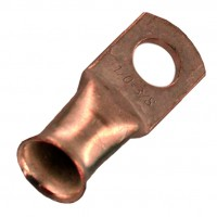 "Unplated Copper Lug 1/0 Awg 1/2"" 20 Pack"