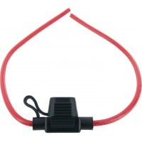 In-Line Mini Blade Fuse Holder 12 Awg With Cover