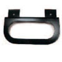 MOUNTING BRACKET, FOR OVAL SEALED LAMPS, Z-TYPE, POWDER COATED STEEL