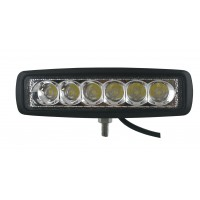 Rectangle Off Road Utility Lamp LED 1260 Lumens 18 Watts