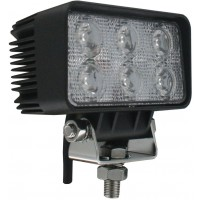 Rectangle Tractor Utility Lamp LED 1140 Lumens 18 Watts