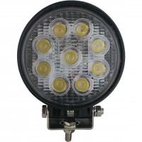 Round Tractor Utility Lamp LED 1710 Lumens 30 Degree 27 Watts