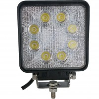 Square Tractor Utility Lamp LED 1520 Lumens 24 Watts