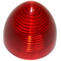 """2"""" DIAMETER BEEHIVE, RED, 8-DIODES, SINGLE CONTACT"""