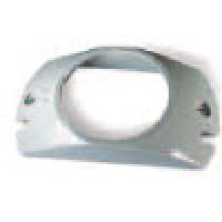 """MOUNT BRANCH DEFLECOTR, POLYCARBONATE, FOR 2.5"""" ROUND DIAMETER"""